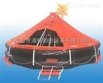 救生设备:船甪抛头气胀式救生筏