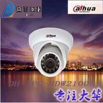 大华DH-IPC-HDW2120S 130万像素POE供电 红外海螺半球网络摄像机