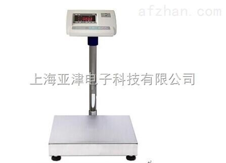上海电子秤塑胶行业用带打印电子台秤100kg