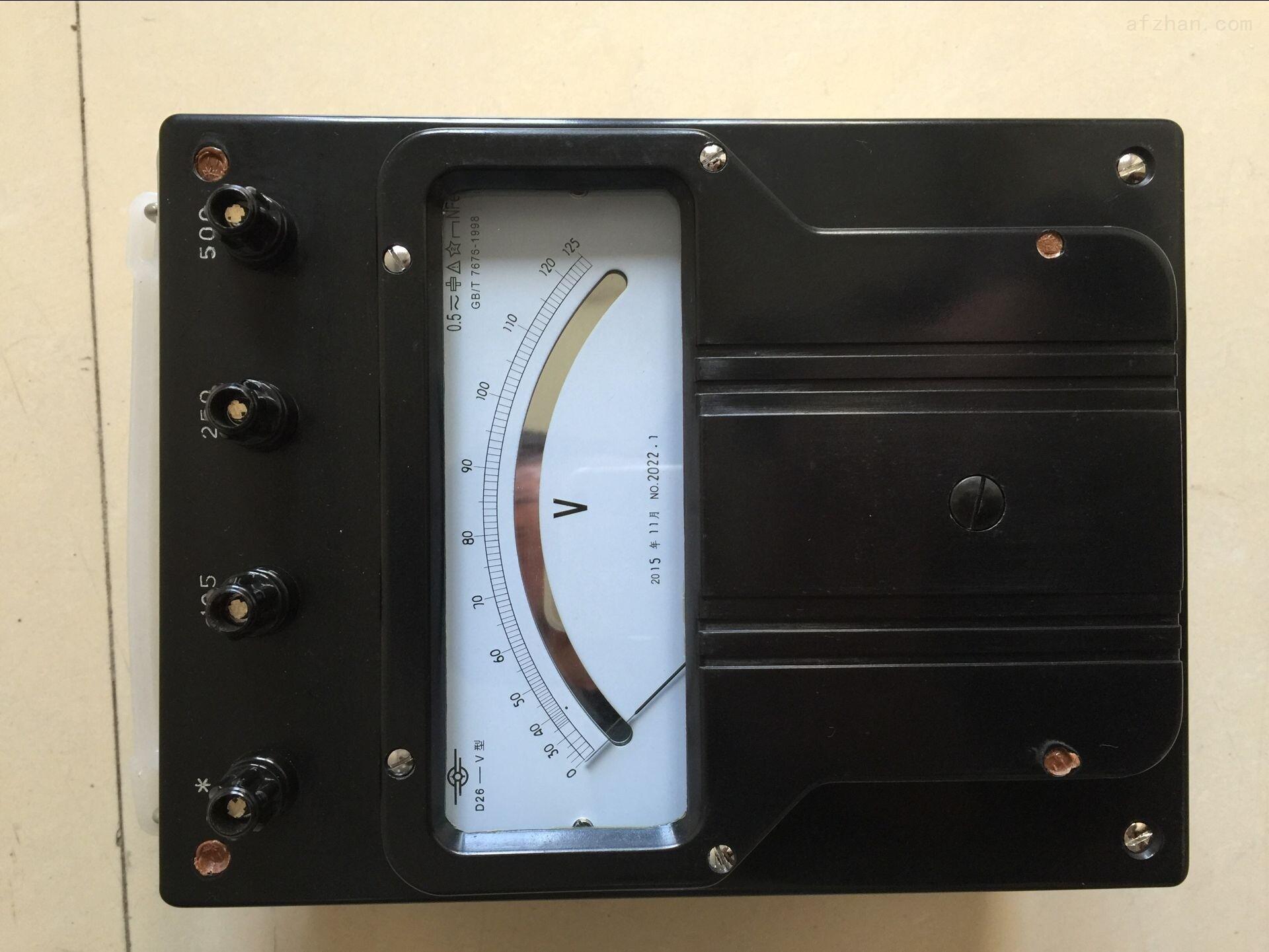 D61-W型单相瓦特表