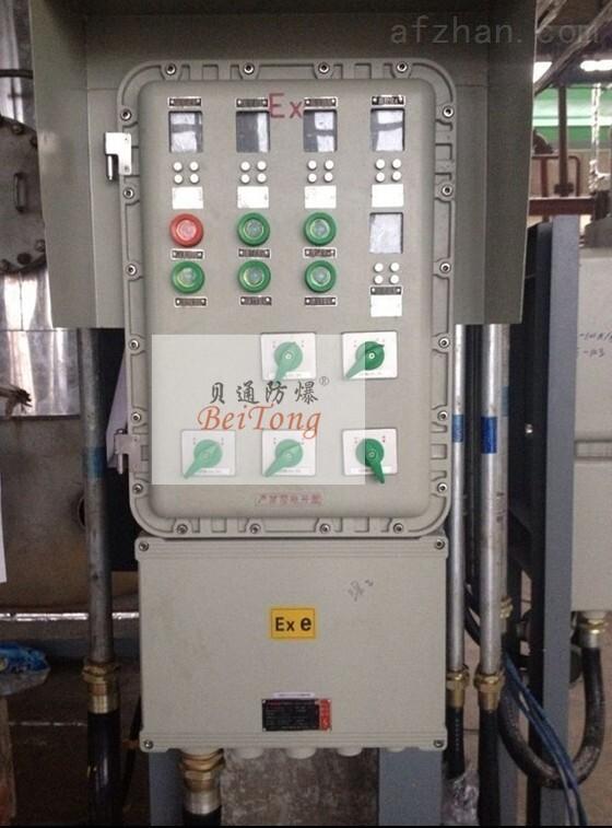 BXK防爆数显仪表箱带按键