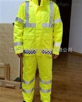 新款透气防水执勤服反光条反光衣反光服分体式反光衣英伦格底边反光服