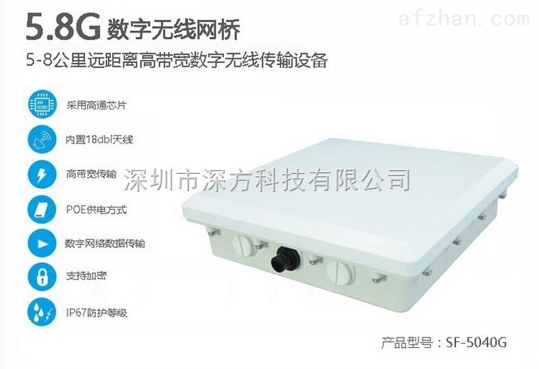 5公里数字无线网桥 数字无线图像传输设备