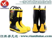 雷克兰9687L高筒消防灭火防护靴,Harvik消防战斗靴