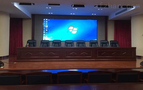 會議室背景墻全彩led顯示屏 p2.5高清電視led屏幕