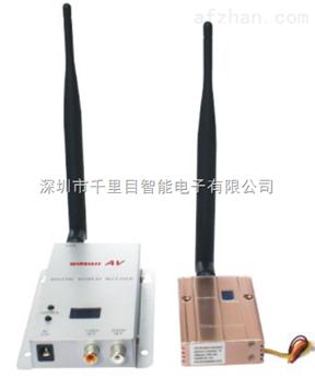 无线微波传输模拟摄像输出图像600米实时收看