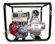 库兹动力3寸汽油高压消防水泵消防车专用