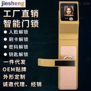 人脸锁电子密码锁 门禁电控锁 酒店智能门锁 刷卡锁