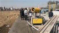 新疆石河子建筑工地风送式雾炮机价格