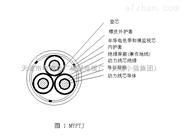MYPTJ矿用电缆3*50+3*25/3+3*2.5