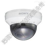 SONY索尼原装正品SSC-N24高清模拟彩转黑变焦红外监控半球摄像机