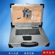 15寸新款银白色军工便携式电脑工业便携机机箱定制加固笔记本外壳铝