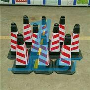 广东PVC提环方锥雪糕桶压不坏橡胶路锥警示锥