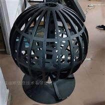 P3室內2米LED球形屏
