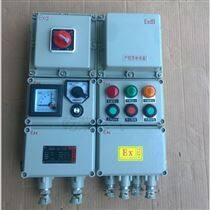一控一電氣動執行器碟閥防爆控制箱