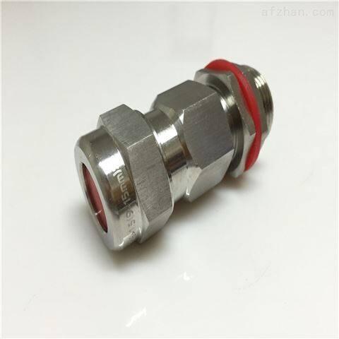 不锈钢电缆夹紧密封接头g1