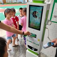 晨检机器幼儿园黄山智能传感器感应体温消毒