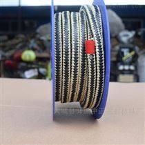芳纶纤维盘根环 芳纶黑四氟交织盘根