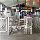高铁站旅客出口单向旋转门