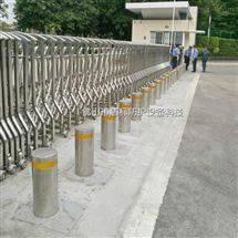 广州机场自动伸降阻车桩 219直径挡车隔离柱