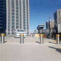 DB停车场防撞止车路障柱,全自动升降柱路桩