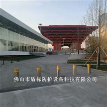 DB旅游中心可升降防撞路障 不锈钢止车桩