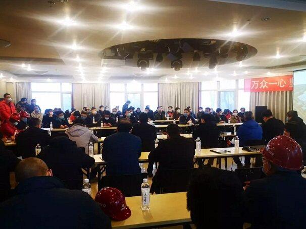 北安协参与北京小汤山医院战备病区建设项目验收工作