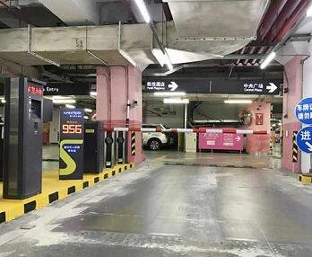 科拓停車亮相上海大型商業綜合體 助力智慧商業新生態