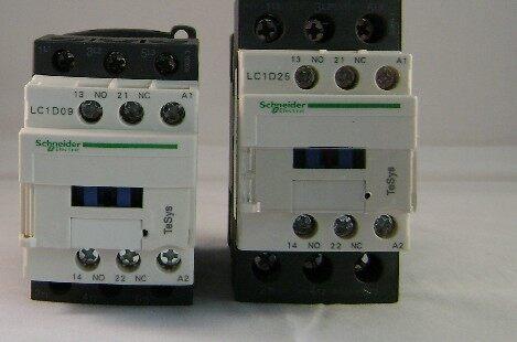 施耐德交流接触器lc1-d8011