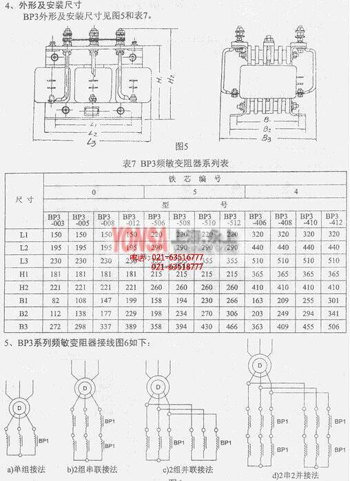 bp3-506/10005频敏变阻器(上海永上)实物图