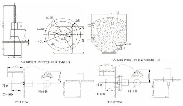 GDLWDZ-M-S,GDLWDZ-M-L 堵转式料位器/阻旋料位开关 概述: GDLWDZ系列堵转式料位器(阻旋式料位器),广泛用于现代工业生产过程和仓储部门。用来对容器内的粉状及颗粒状物料,进行料位监测或控制。其性能与目前国内生产的老式产品相比,具有技术先进、结构合理、性能可靠、使用维护方便、性能价格比高等诸多优点,是替代进口的首选产品。 主要功能及优点: 1、摒弃了传统机械式料位器的齿轮传动机构。 2、因为摒弃了齿轮传动机构,所以相比普通阻旋式料位器使用寿命更长(一般厂家生产的阻旋料位器保修12个月