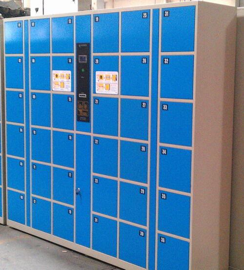 12门电子寄存柜生产