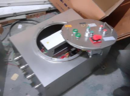 防爆变频器控制柜_变频器防爆电控柜定做,非标焊接,电