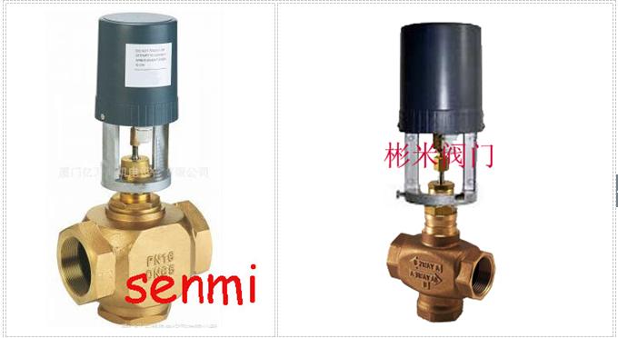 ,三通阀配以电子驱动控制装置后,能调节蒸汽或冷、热水的流量,广泛应用于中央空调节、采暖、水处理、工业加工行业等系统的流体控制。VA-3000系列驱动器是一种电子机械的产品,与VB-3000系列阀门配用。亦可通过不同的连接器与其它阀门配用。适用于15mm、17mm或19mm、22mm的行程。对于递增式反馈或比例式控制型所用的行程由一跳线进行选择。比例式0-10V或4-20MA直流控制更可跳线选择正转式或逆转式运行。