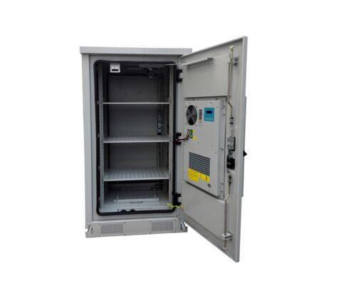 防雨恒温机柜  机柜材质:机箱采用镀锌板+加专业户外