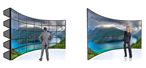 室内3d全彩小间距led显示屏p2.5厂家