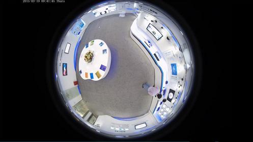 景阳科技鱼眼全景摄像机诠释360度无死角