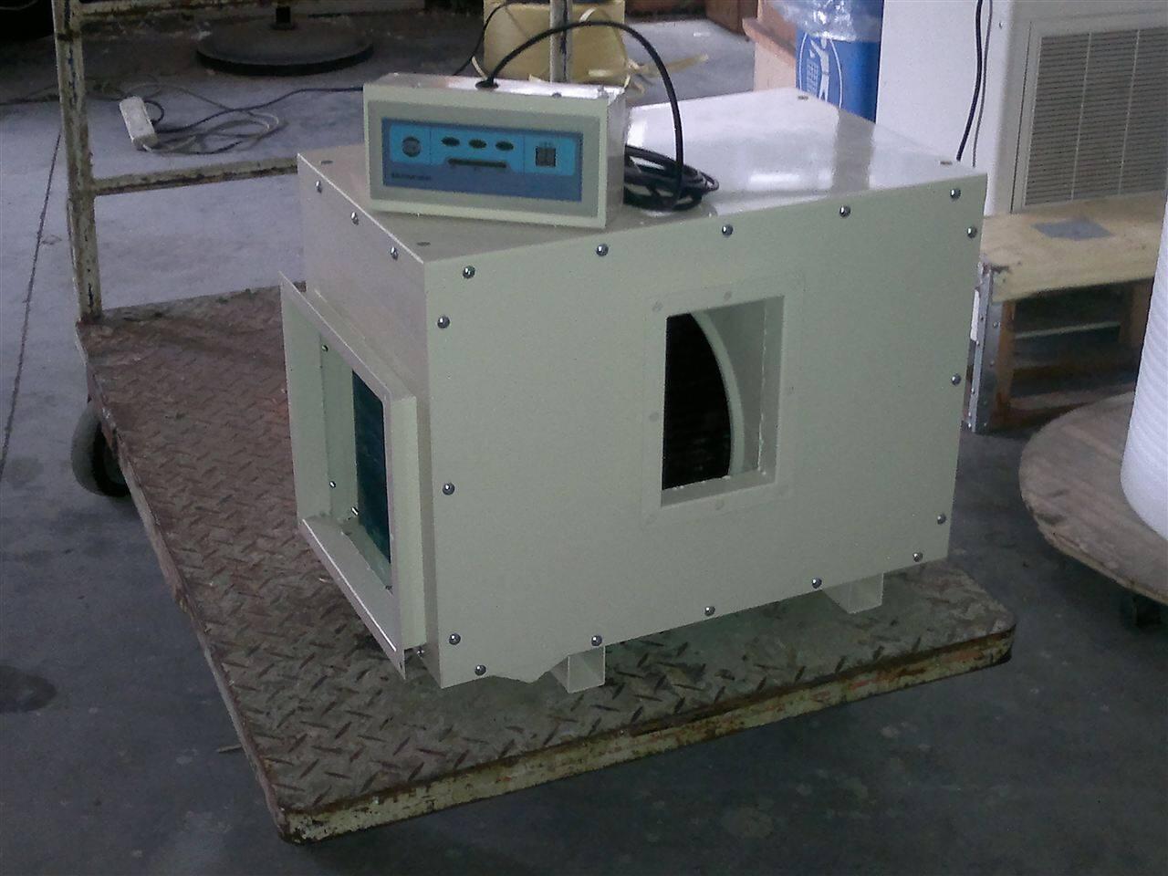 此时四通阀带电,系统按制热方式运行,室内第二换热器被电磁阀关断图片