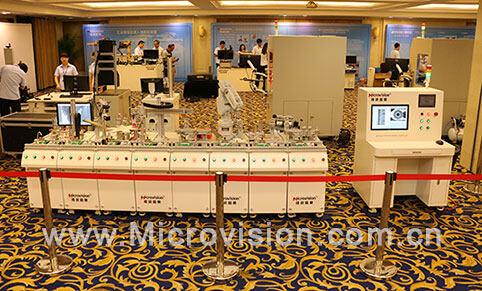 维视工业机器人视觉系统助力高新人才培养_机