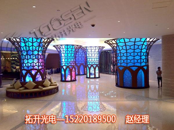大奖娱乐官网室内高清LED广告显示大电子屏制作厂家