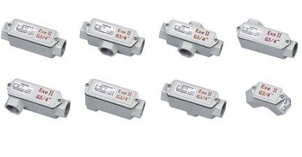 防水穿线盒   三通接线盒   直通接线盒    铝壳防水接线盒   不锈钢