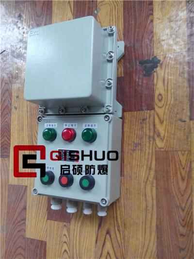 可逆正反转防爆磁力启动器内装交流接触器