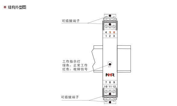 虹润推出nhr-m38系列智能高速隔离器
