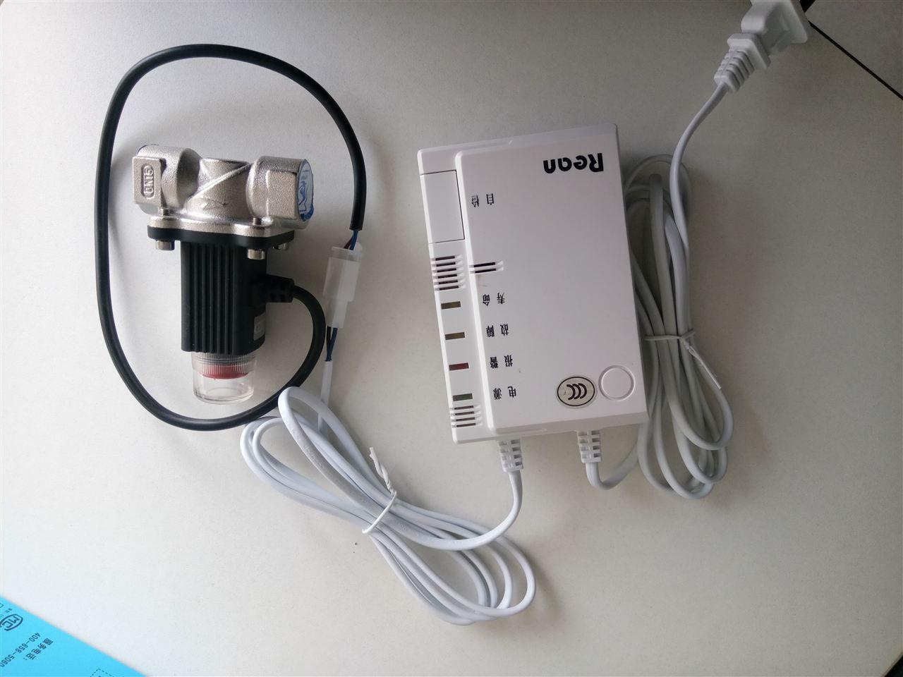 临朐县家用燃气报警器 联动家用燃气电磁阀 产品证书:(证书齐全) 消防