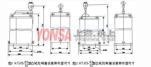 凸轮开关ktj15c-63/1凸轮控制器(上海永上起重电器厂)