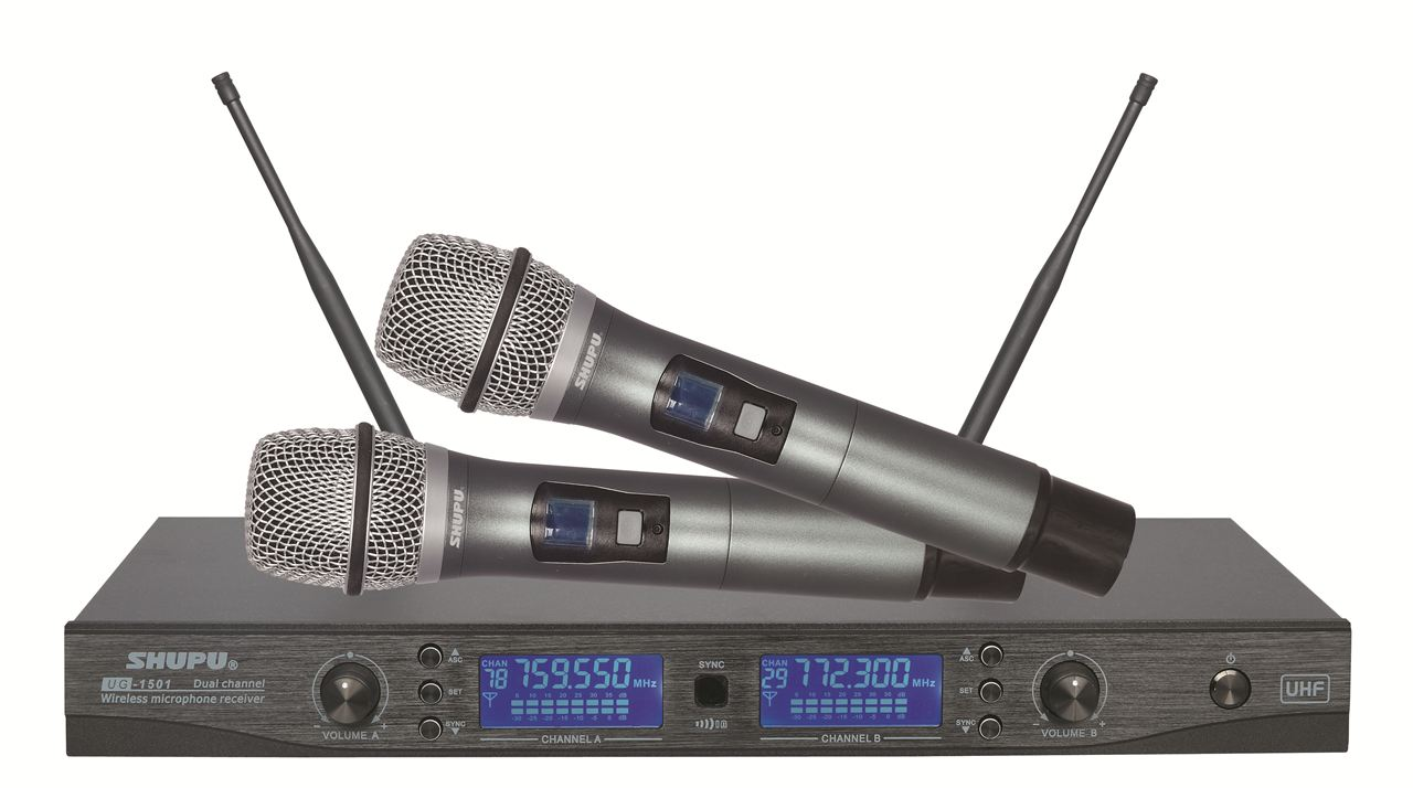ug-1501-u段无线麦克风