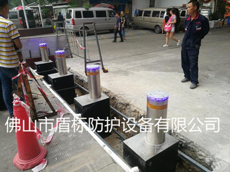 佛山盾标防护升降柱厂家,全自动液压升降柱安装检修