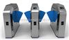 Y216杭州高档翼闸供应(变形金刚)全新研发新款豪华翼闸